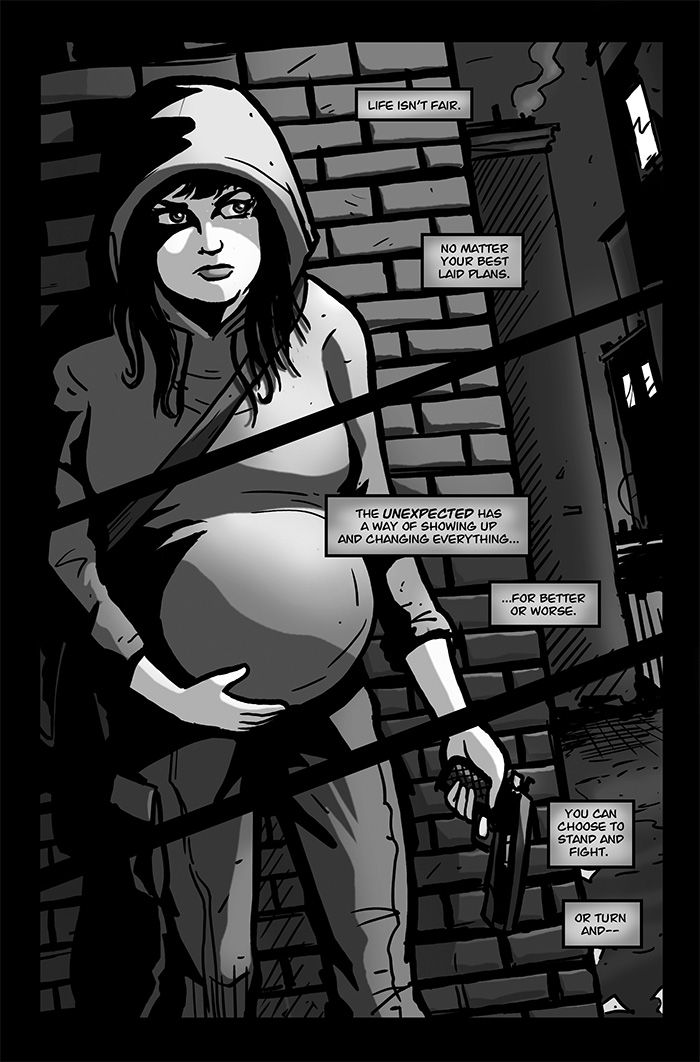 The God Child: Advent Page 1